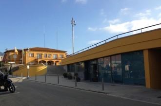 Rehabilitada la façana de l'Edifici de Serveis Municipals de Sant Pere