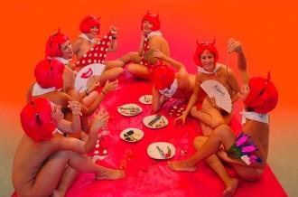 Les noies del Cercatapes, de pic-nic