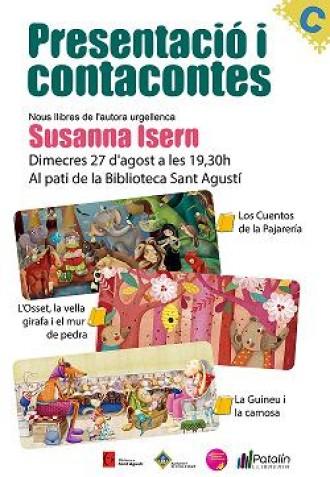 L'autora urgellenca Susanna Isern presenta els seus últims contes