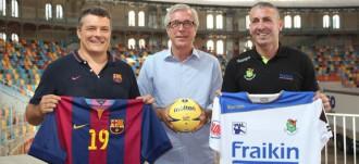 Barça i Granollers es juguen la Supercopa d'handbol a Tarragona