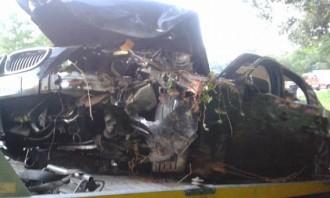 Tres ferits en un nou accident a la carretera GI550 a Arbúcies