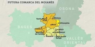 Joana Ortega cita els alcaldes del Moianès per la consulta