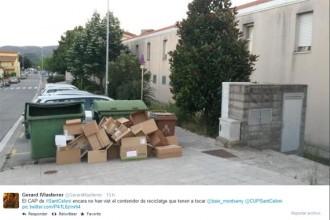 Fotonotícia: No heu vist el contenidor de reciclatge de l'altre cantó?