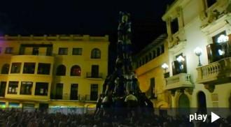 Els Castellers de Vilafranca ensenyen les seves cartes de cara Sant Fèlix