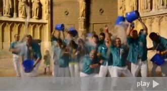 Els Castellers de Sant Pere i Sant Pau se sumen a l'ice bucket