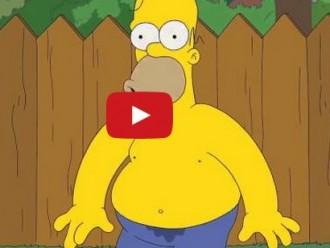 Vés a: Homer Simpson fent l'«Ice Bucket Challenge»