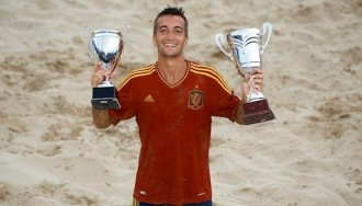 L'European Beach Soccer Cup, nou repte per al torrenc Llorenç Gómez