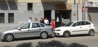 Societat Civil Catalana visita el regidor de Cardedeu