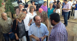 Iceta veu bé que Mas lloï al Fossar «el sacrifici dels patriotes catalans»