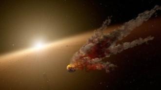 Descobreixen una gran col·lisió d'asteroides que podria formar un nou planeta Terra