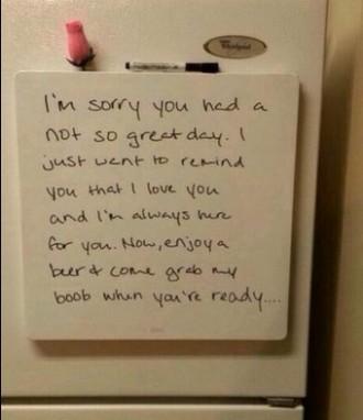 Llegiu aquesta nota i digueu-nos si us sembla romàntica [FOTO]