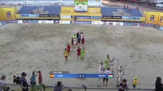 Llorenç Gómez arrenca amb bon peu a l'Euro Beach Soccer Cup