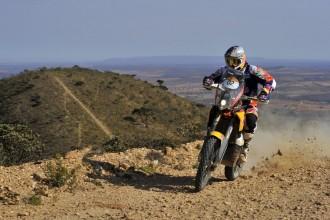 Vés a: Marc Coma, a punt de guanyar el Rally del Brasil