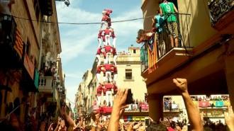 La Colla Joves Xiquets de Valls es doctora a Sant Fèlix