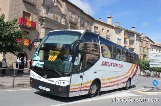 Més places d'autocar per anar des de Solsona a la Via Catalana del proper 11-S