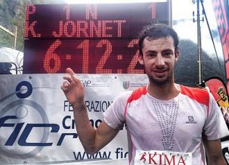 Kilian Jornet també trenca el rècord de la Kima
