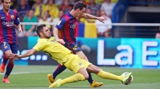 El Barça guanya el Vila-real (0-1) amb un solitari gol de Sandro al minut 82