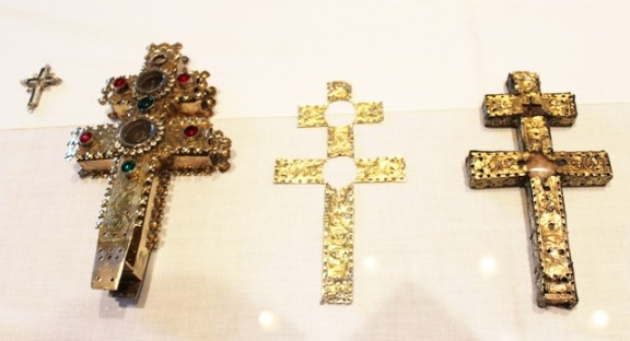 La Santa Creu d'Anglesola, un dels pocs testimonis de les creus provinents dels tallers de Jerusalem