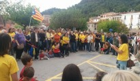 Vacarisses surt al carrer a favor de celebrar la consulta del 9-N
