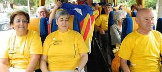Un centenar d'autobusos del Baix Camp a la V el proper 11 de Setembre