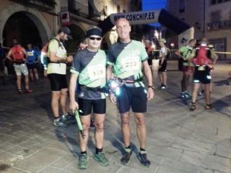 L'equip de Curses i Marxes de Muntanya a la 6a Travessa Borges-Montblanc