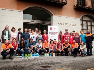 Creu Roja d'Osona recull 1.512 litres de llet a Taradell