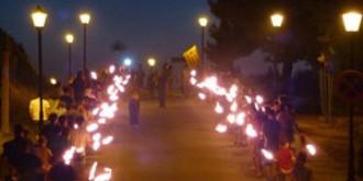 La tercera Marxa de Torxes recorrerà dimecres al vespre els carrers de Falset