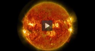 La NASA grava per primera vegada  les flamarades solars