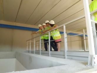 L'Estació de Tractament d'Aigua Potable de Sant Celoni funcionarà a finals d'any