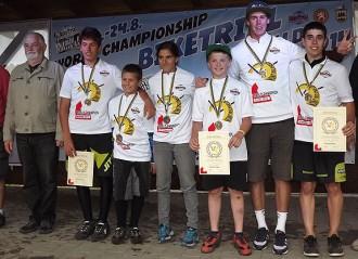 Catalunya guanya el quart Campionat del Món de biketrial