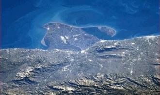El delta de l'Ebre, a ulls d'astronauta