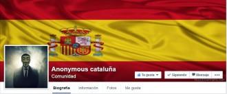 Un misteriós facebook Anonymous Cataluña difon les dades de l'ANC