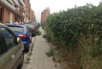 Queixa per l'estat del carrer de Joaquim Costa de Terrassa