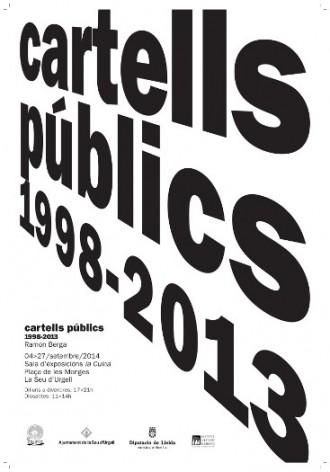 Quinze anys de 'Cartells públics' a la Seu d'Urgell