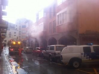 Un llamp causa un incendi en una casa a Torelló