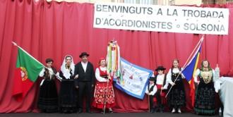 Un any més l'acordió dóna la benvinguda a la Festa Major de Solsona