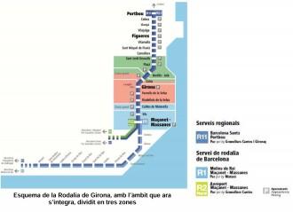 Girona implanta la integració tarifària al transport el proper dilluns