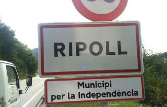 Ripoll explicita que és un municipi independentista
