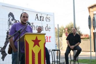 David Fernàndez diu que el 9-N és el primer acte fundacional d'un nou país