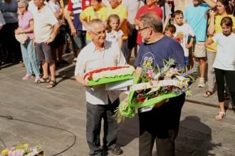 Més de 500 persones als actes institucionals de l'11-S a Sant Celoni