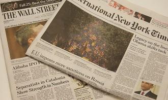 Vés a: Del judici a Mas al referèndum: sis mesos intensos a la premsa internacional