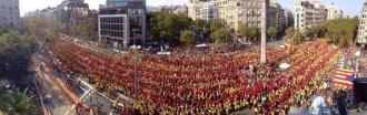El Baix Montseny també passa a la història amb la Via Catalana