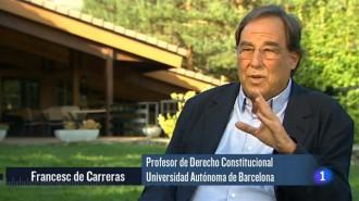 Francesc de Carreras insisteix en comparar el procés amb el nazisme