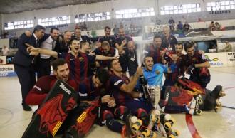Vés a: El Barça d'Hoquei inicia a Reus el camí dels sis  títols