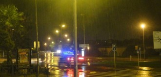 La tempesta deixa molts llamps i dos accidents al Baix Penedès