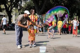 L'ambient de la Diada a Barcelona