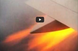 Vés a: Una passatgera grava un incendi en un avió que havia sortit del Prat