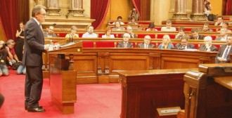 Vés a: The Catalan President reaffirms that he is to hold the 9-N consultation to the Parliament