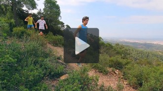 Vídeo: Marc Pinsach, Nil Cardona i Oriol Cardona promocionen la Cursa de Muntanya de Girona