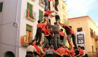 Valls assajarà en diumenge pensant en el Concurs de Castells